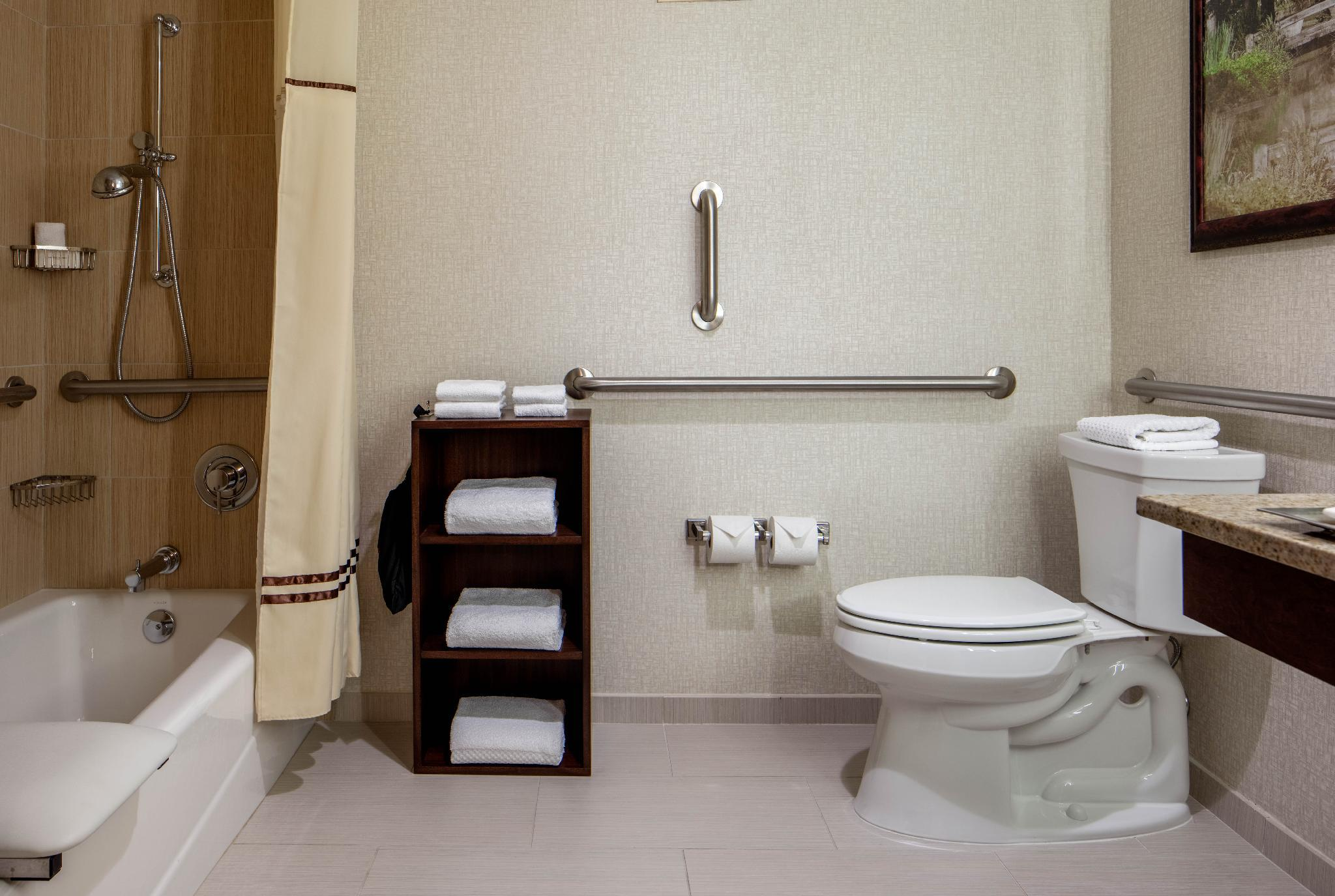 2 Double City View Mobility Hearing Accessible Tub