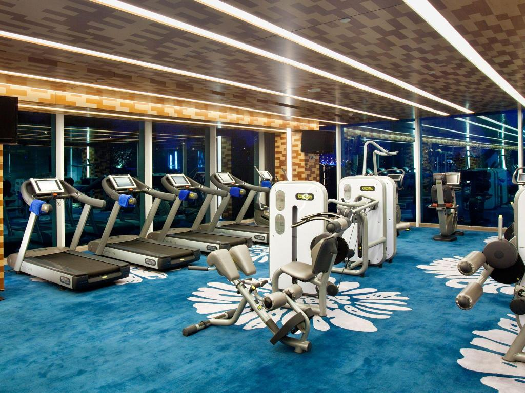 Fitness center Crowne Plaza Suzhou