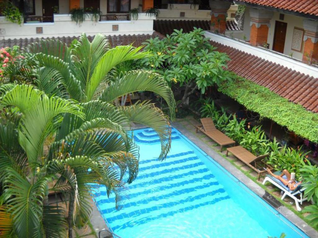Swimming pool Bali Sorgawi Hotel