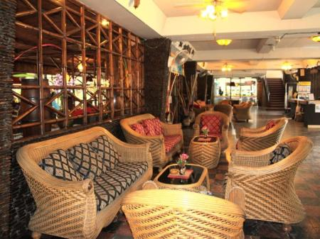 Lobby Basaya Beach Hotel & Resort