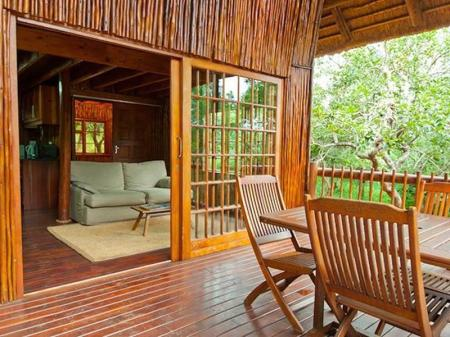 Interior view Amafu Forest Lodges