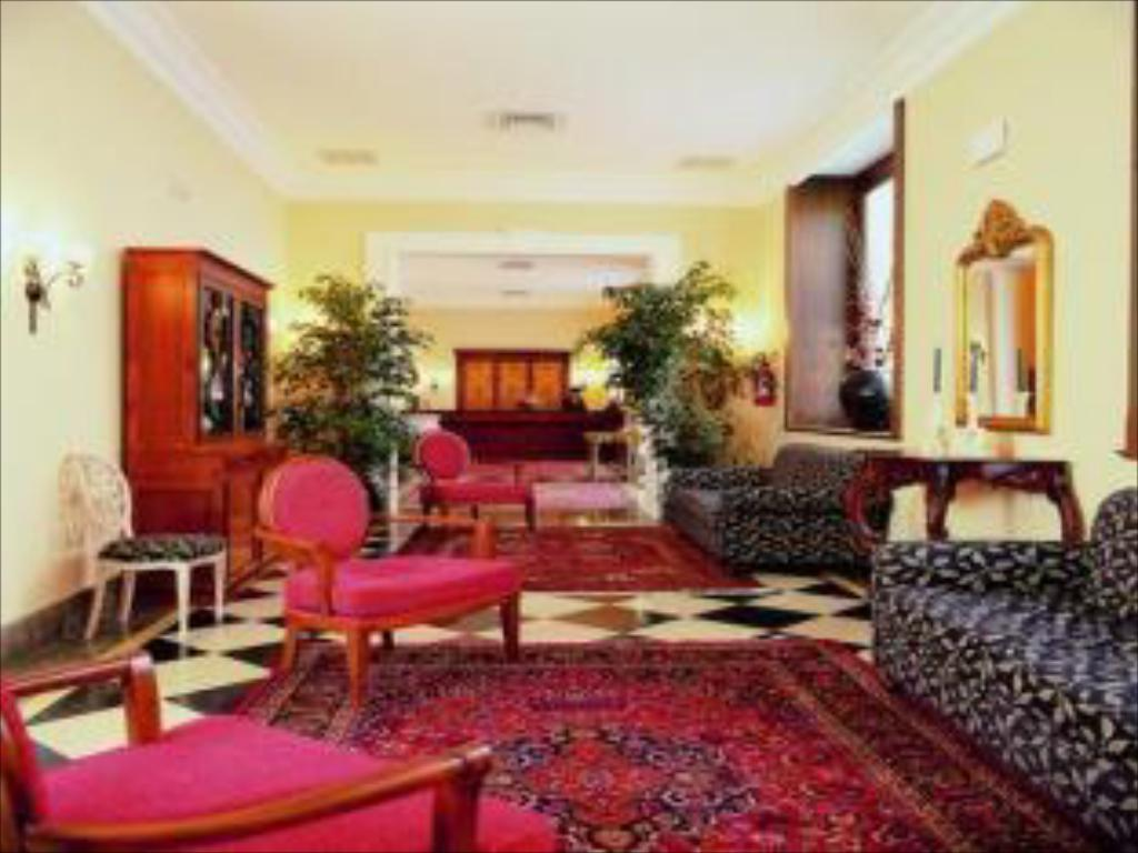 Lobby Hotel Federico II Central Palace & Spa