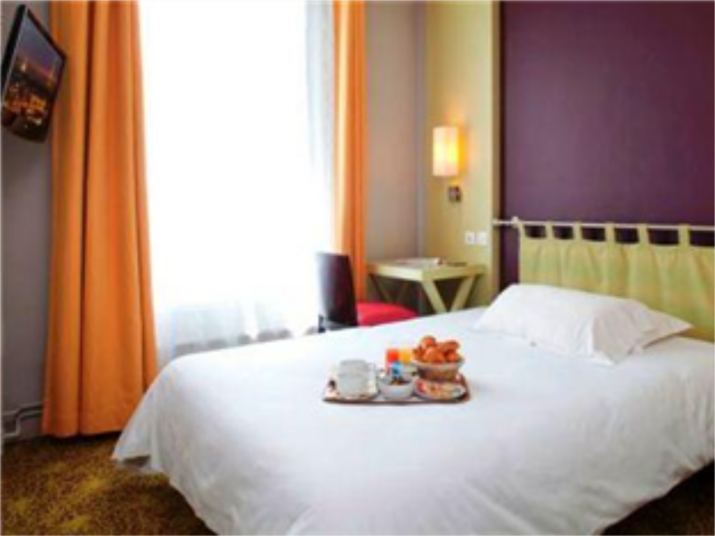 Double Room - Guestroom Hotel Montparnasse Alesia