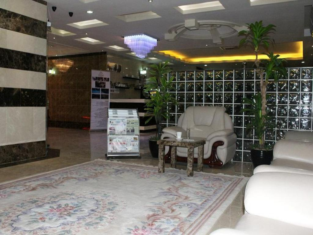 Лобби Ajmal Almsaken Furnished Apartments