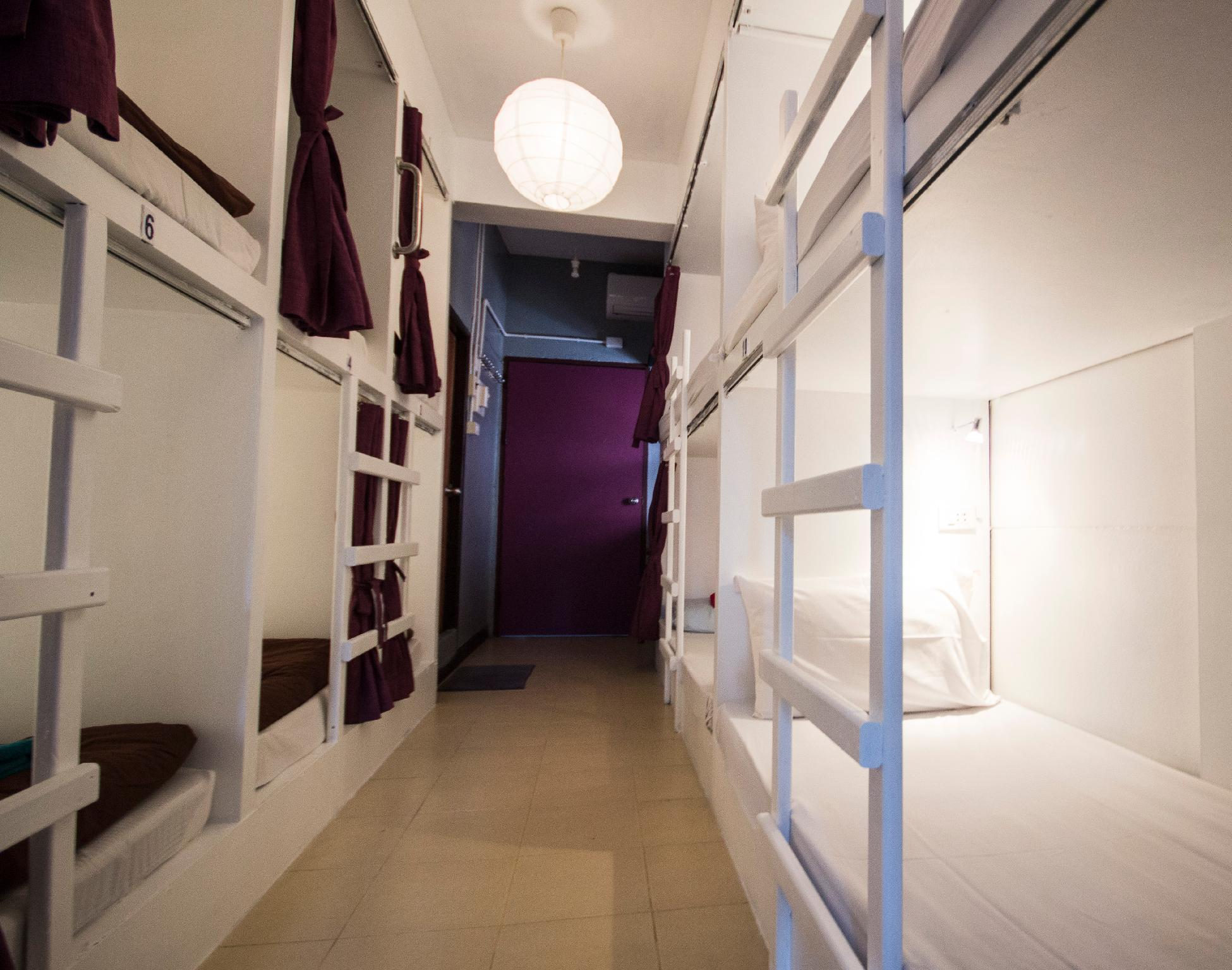 Lit simple dans un dortoir - 12 lits (1 Bed in 12-Bed Dormitory)