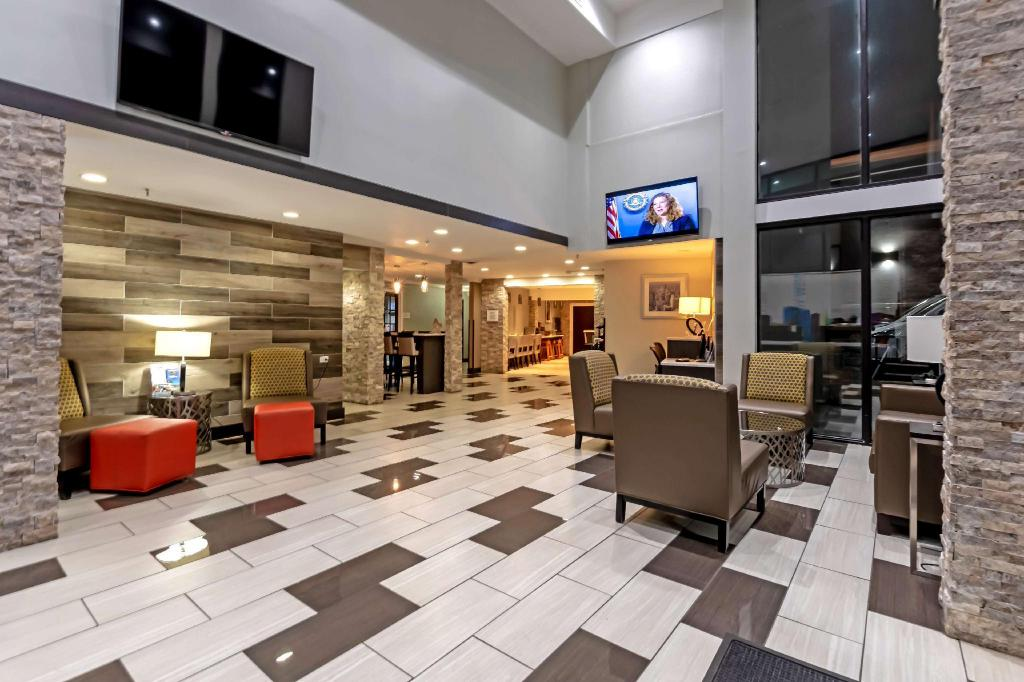 Lobby Best Western at OHare