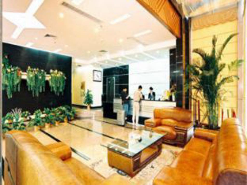 Lobby Wuhan Tianyuan Commercial Hotel