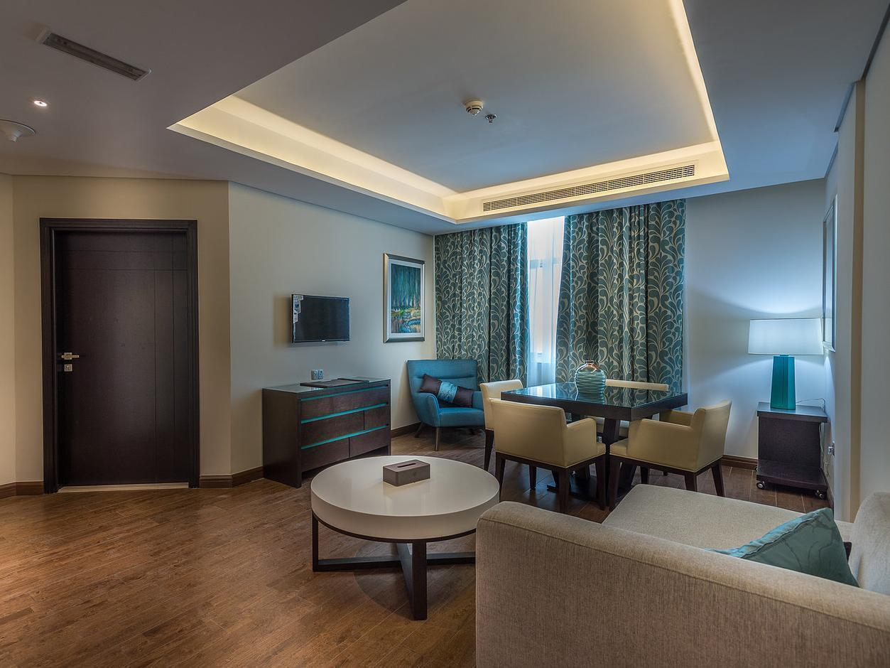 Premium Suite numurs ar King izmēra gultu (Premium Suite with King Bed)