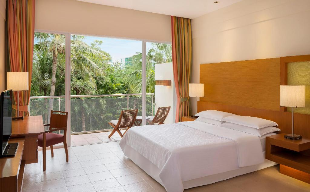 Garden View, Guest room, 1 King, Garden view, Balcony - Gulta Sheraton Hua Hin Resort & Spa