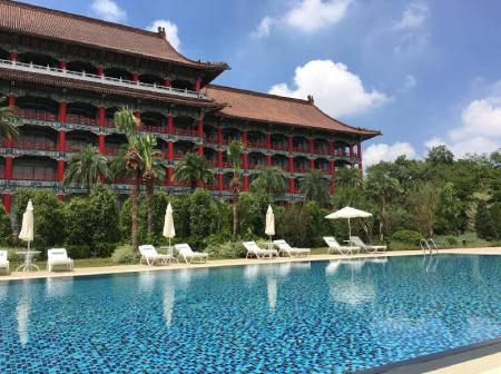 Swimming pool [outdoor] The Grand Hotel Kaohsiung