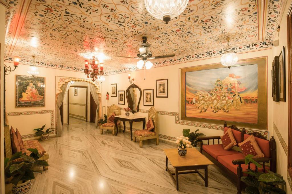 Lobby Umaid Bhawan - A Heritage Style Boutique Hotel