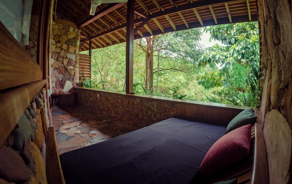 Cliff Room Twin - View from inside Veranda Natural Resort
