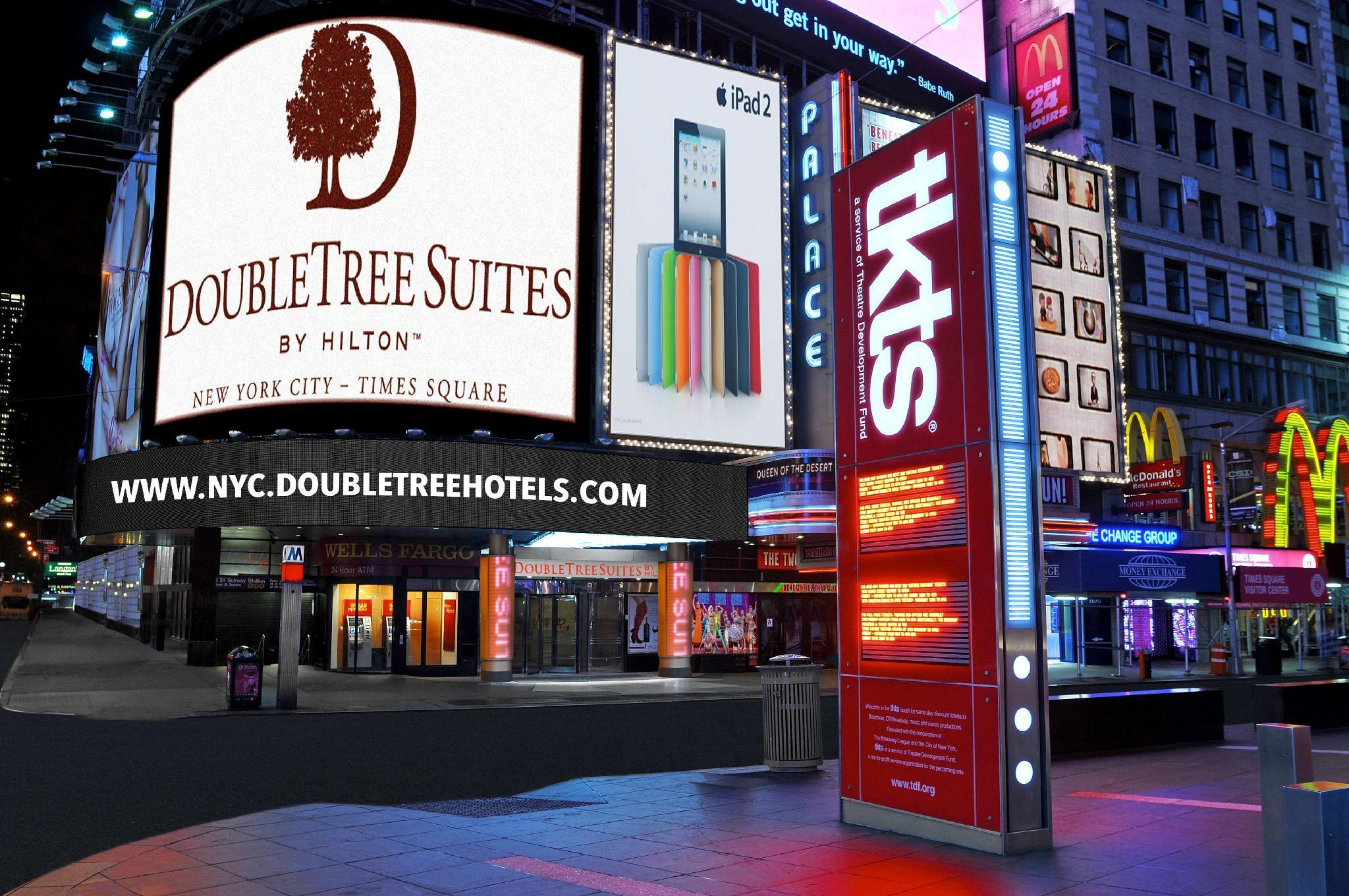 About DoubleTree by Hilton Hotel New York Times Square West Hotel