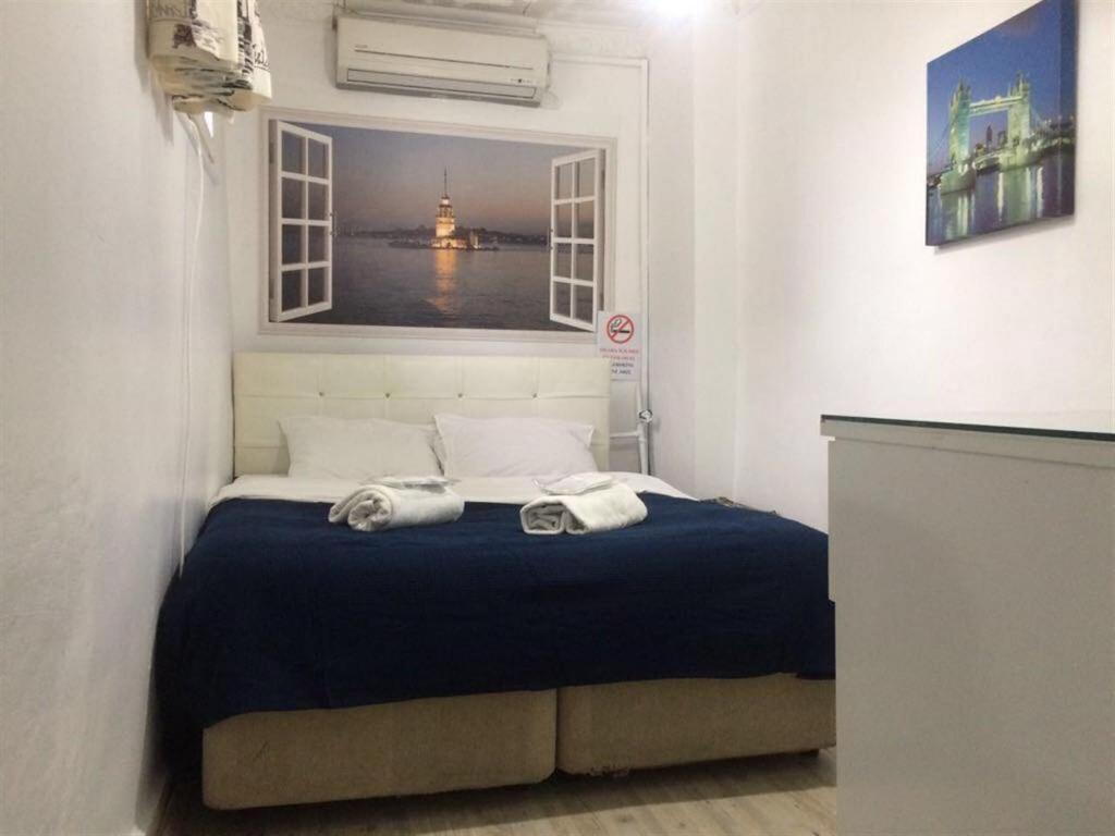 Economy Double Room - Guestroom Istanbul Taksim Green House Hostel