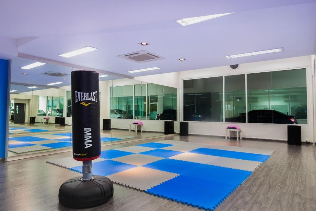 Fitness center A2 Hotel Bangkok