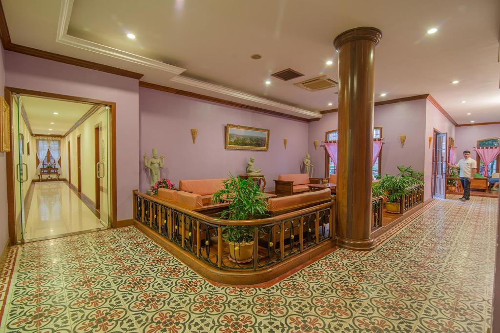 Lobby Steung Siemreap Thmey Hotel