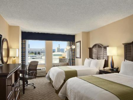 2 Double Beds, Non-Smoking Wyndham Santa Monica At The Pier Hotel