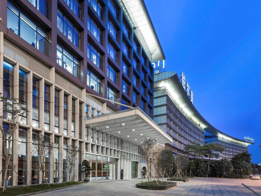 Aeroporto Guangzhou Arrive : Pullman guangzhou baiyun airport hotel in china room deals photos