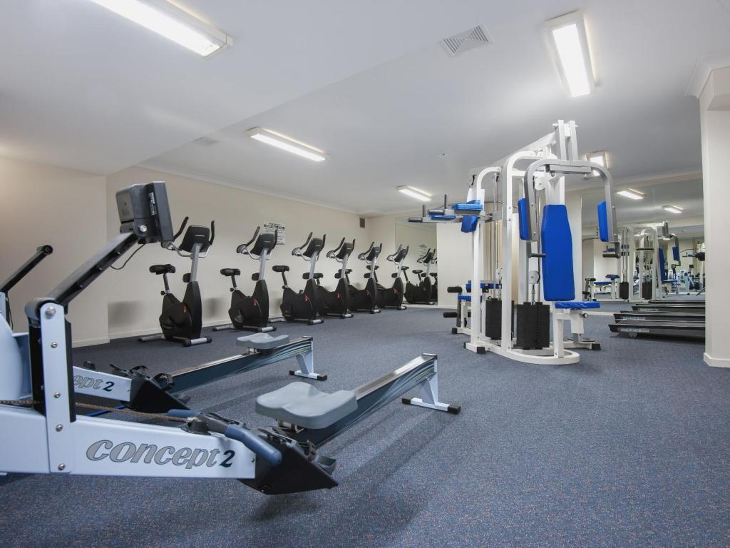 Fitness center Turtle Beach Resort