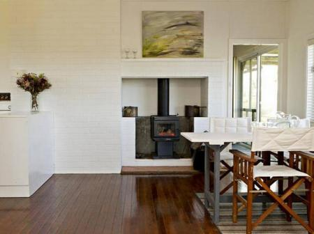 Tampilan interior Colenso Country Retreat