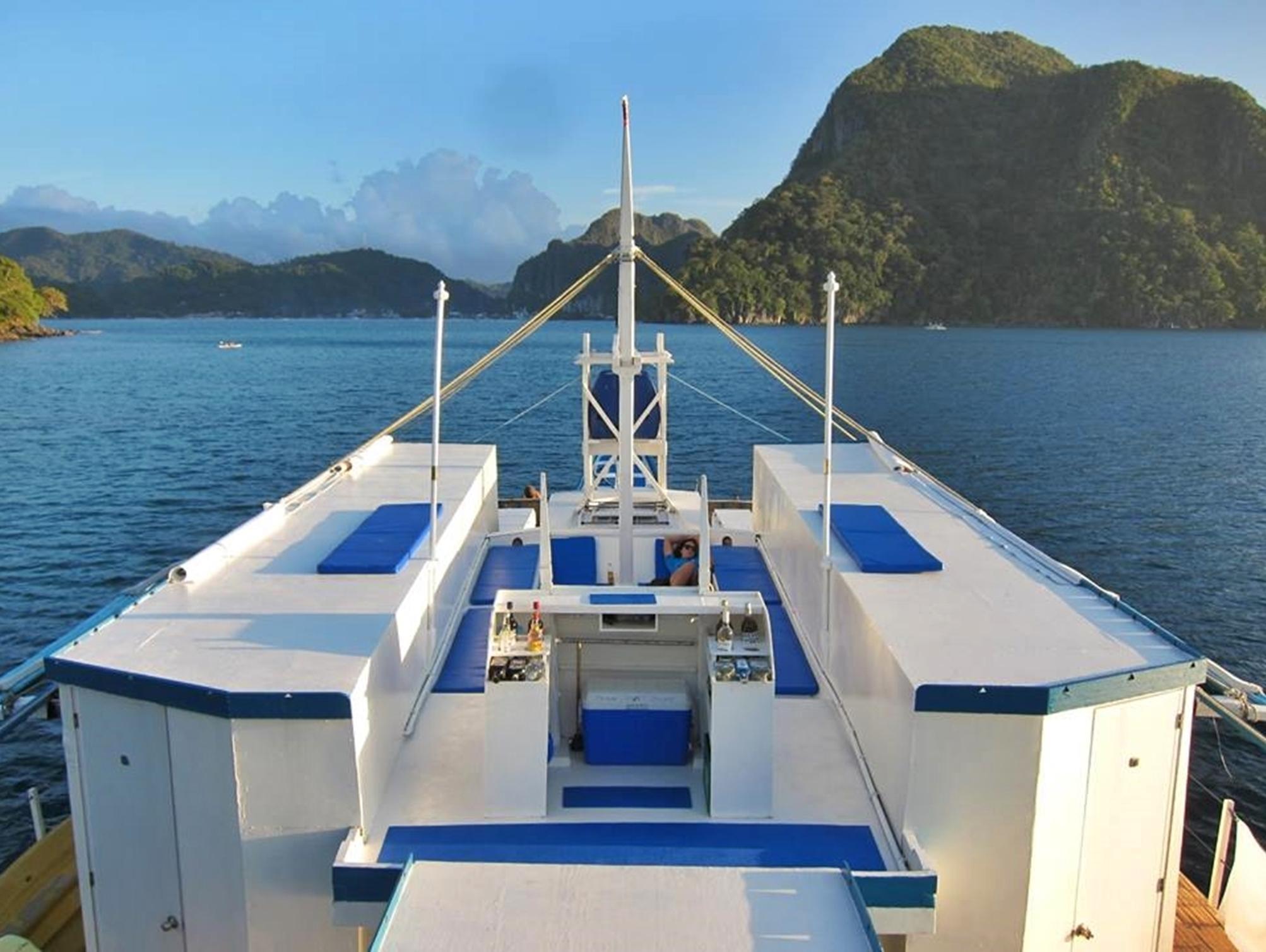 Floating Hotel Part - 34: Palawan Secret Cruise Floating Hotel