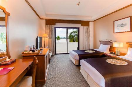 Superior River View Twin Beds - Bed Fortune River View Hotel Nakhon Phanom