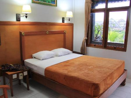 Standard Double or Twin Room with Fan Hotel Sorga Cottages Kuta