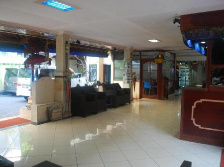 Lobby Hotel Sorga Cottages Kuta