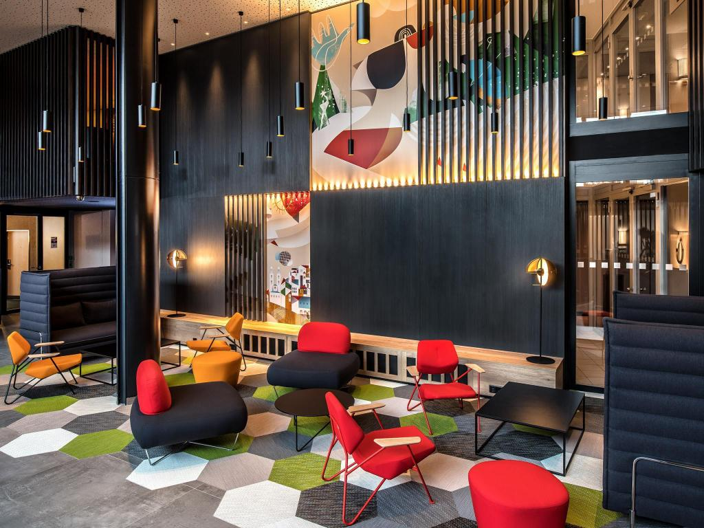 Lobby Park Inn by Radisson Zurich Airport