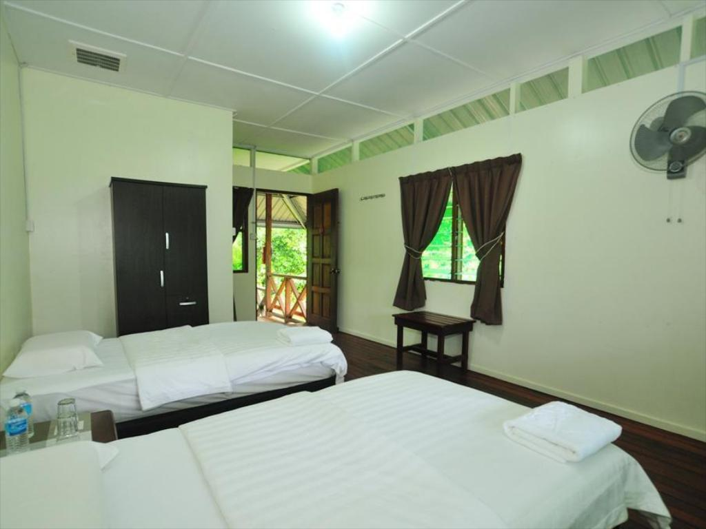 2D1N - Long House - Bed Kinabatangan Wetlands Resort