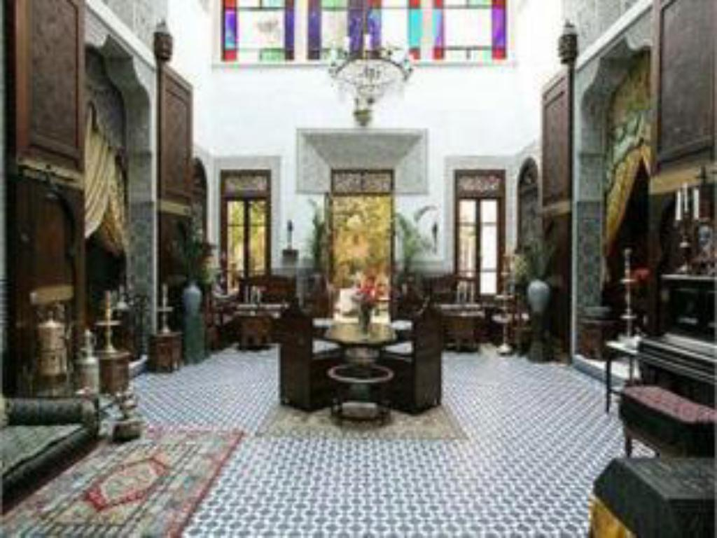 Lobby Riad Arabesque & Spa