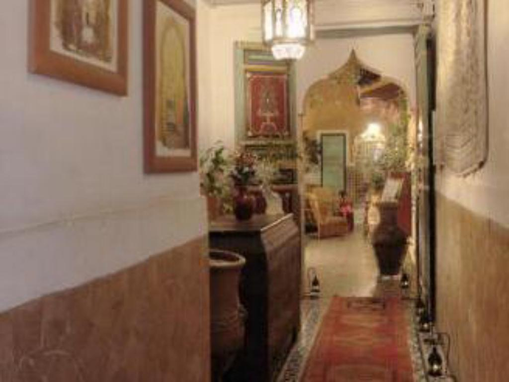 Hotellet indefra Riad Catalina