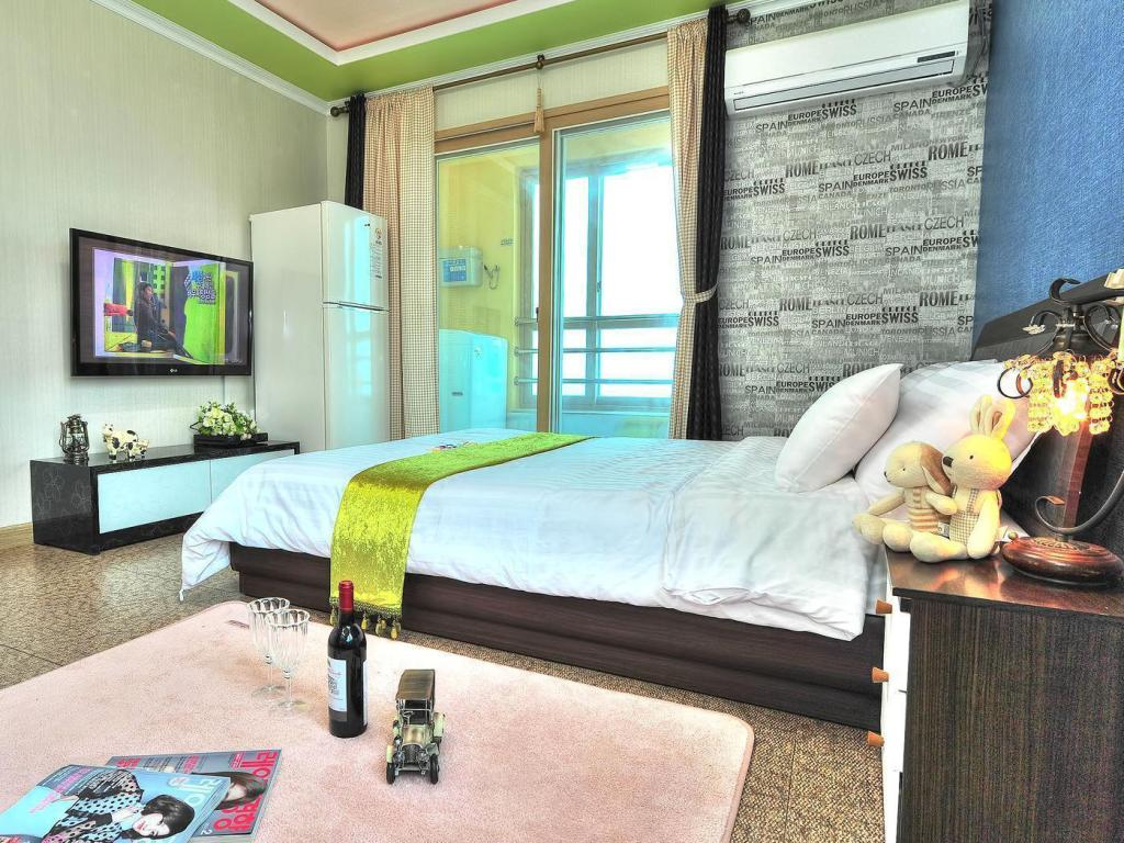 Double Room with Sea View Pension Star