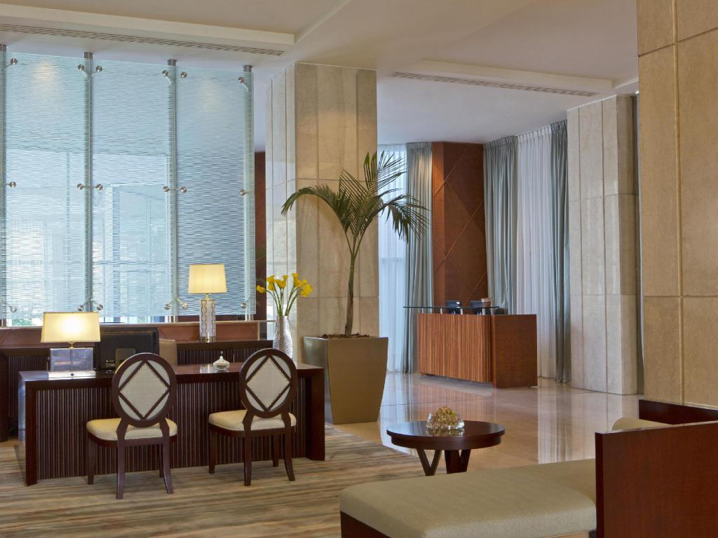 Interior view San Cristobal Tower a Luxury Collection Hotel Santiago
