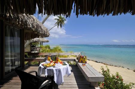 Junior Suite Premium Beach Bungalow - منظر منتجع وسبا إنتركونتيننتال موريا (InterContinental Moorea Resort & Spa)