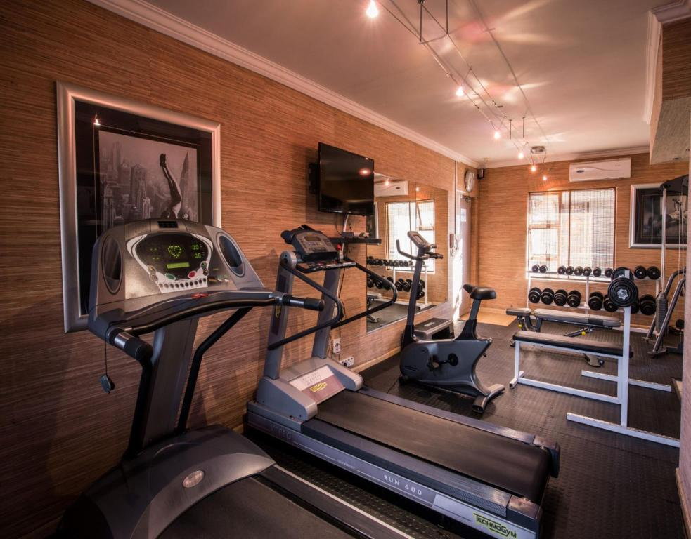 fitness centrum Prestige Apartments Sandton at Westpoint