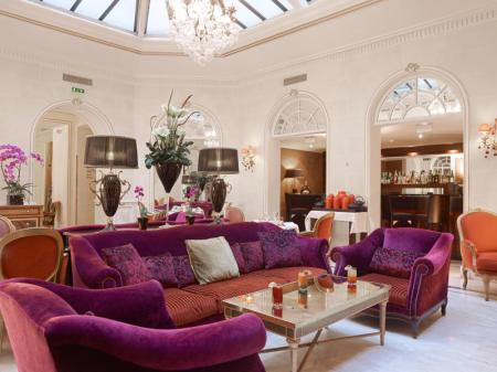 Lobby Hotel Balzac Champs Elysees Paris