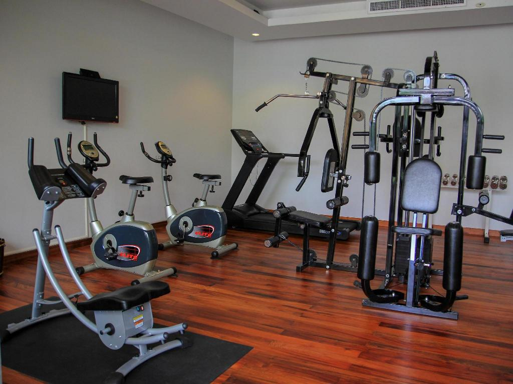 Phòng tập gym Malisa Villa Suites Hotel