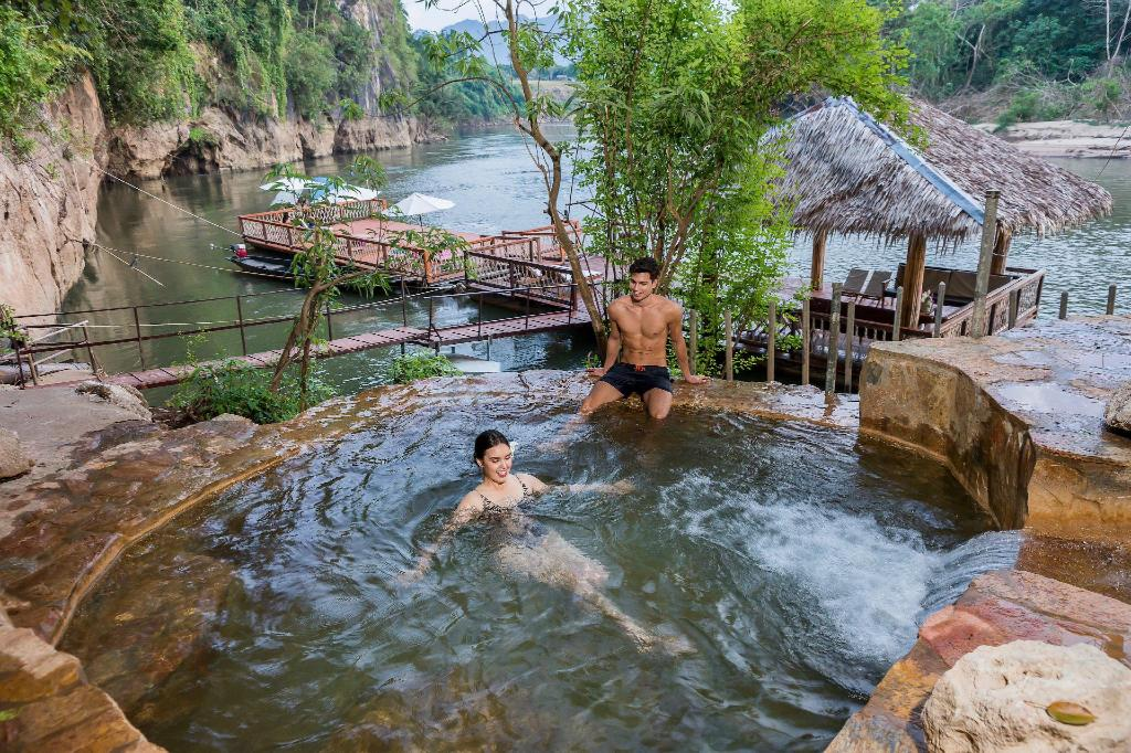 Swimming pool [outdoor] Hintok River Camp @ Hell Fire Pass Hotel