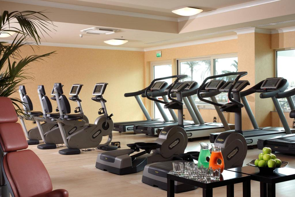 Fitness center Rome Marriott Park Hotel