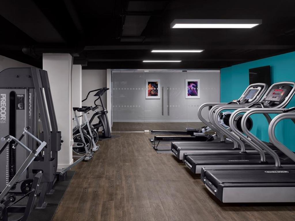 fitness centrum Radisson Blu Edinburgh