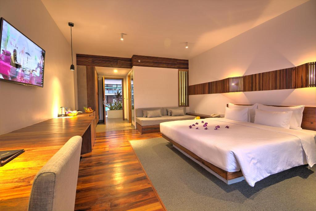 Executive Deluxe Double Room - Guestroom Hotel Somadevi Angkor Boutique and Resort