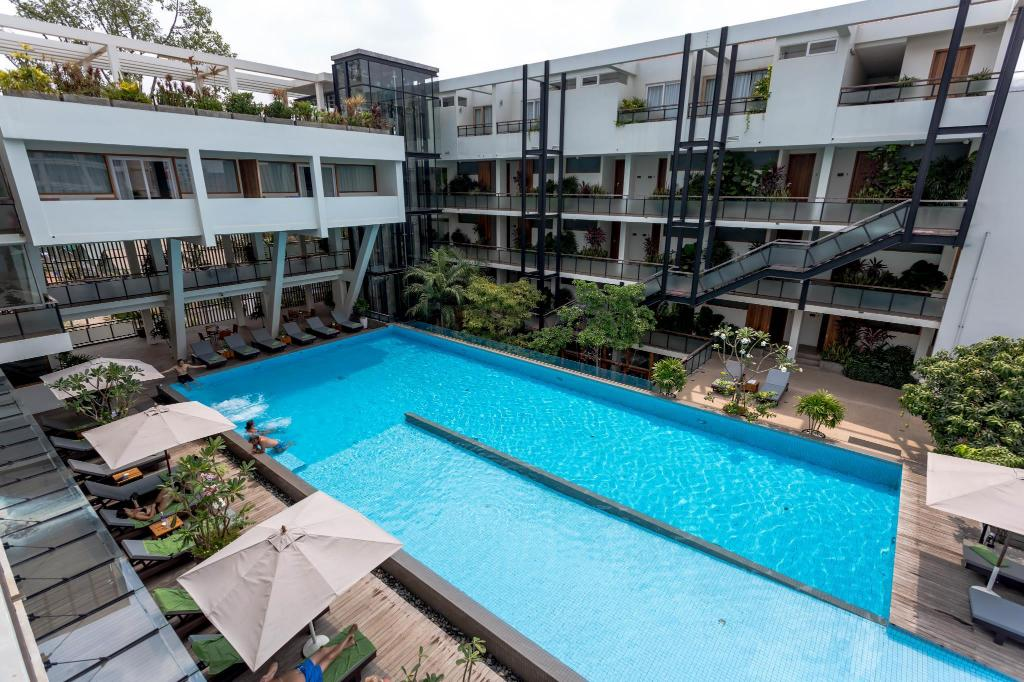 Swimming pool [outdoor] Hotel Somadevi Angkor Boutique and Resort