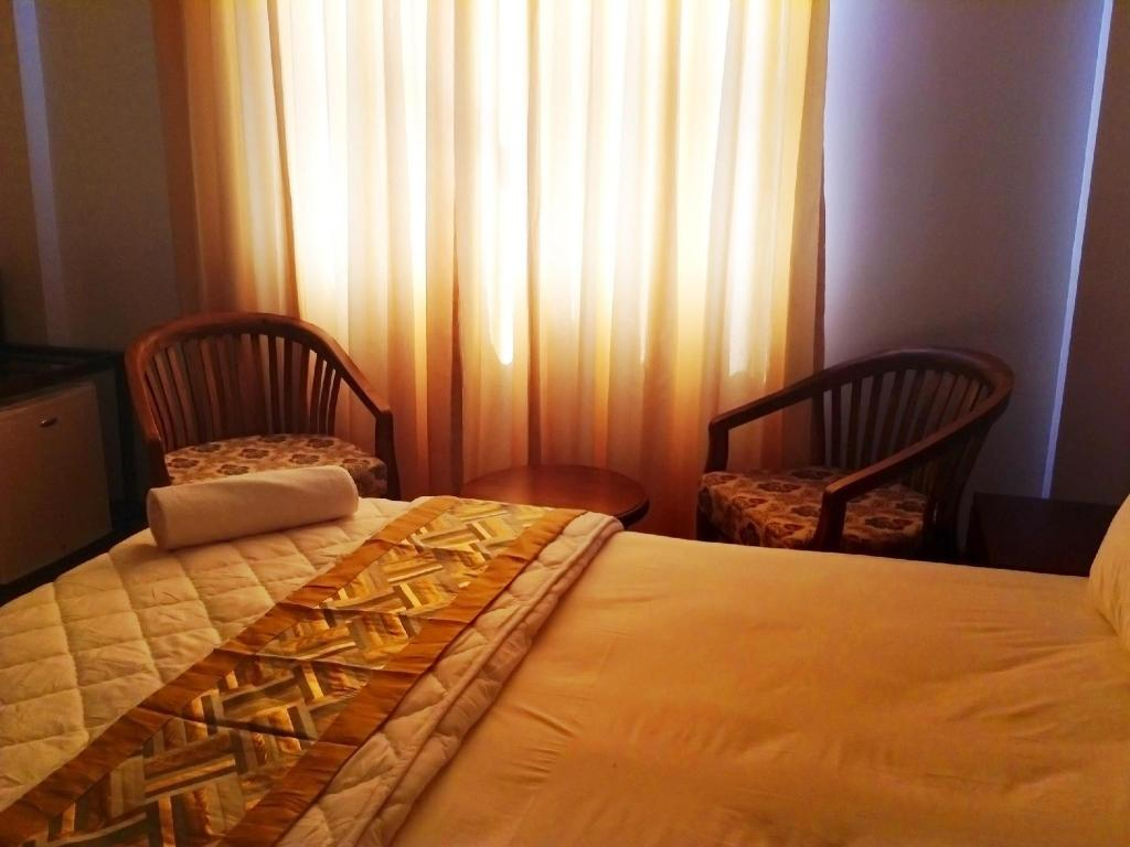 Hotellet indefra Coco Gili Beach House