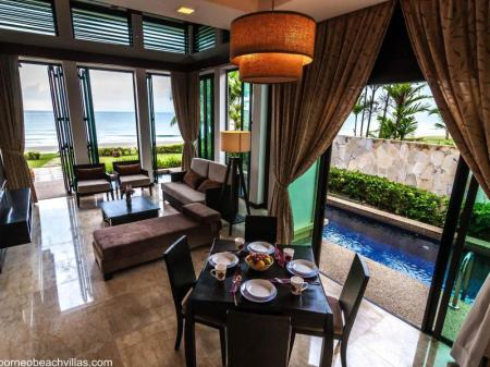 Interior view Borneo Beach Villas