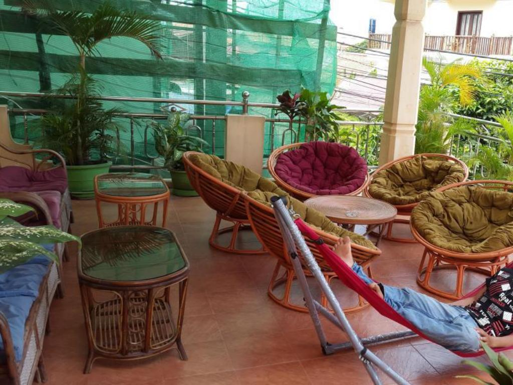 balkon/terasa Hostelling International Siem Reap