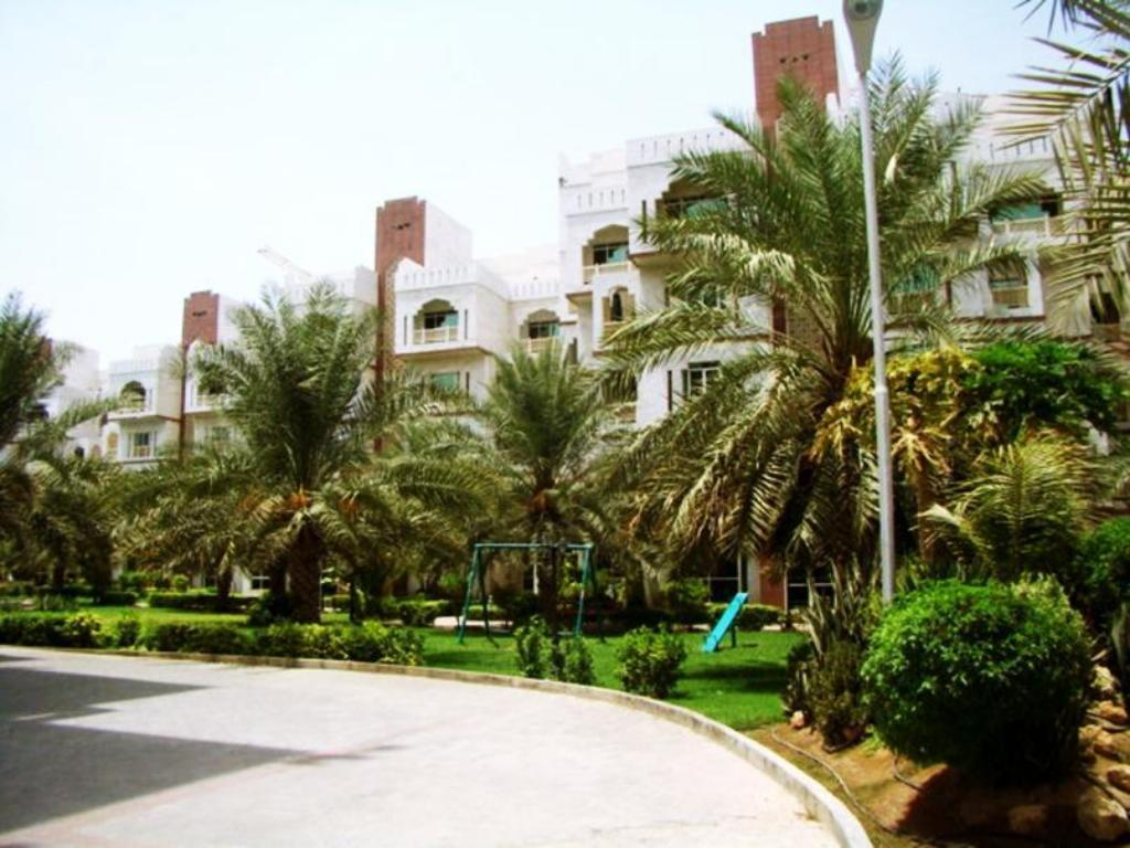 Entrance Muscat Oasis Residences