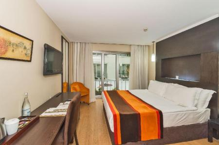 Single  Room - Room plan The Hotel Beyaz Saray