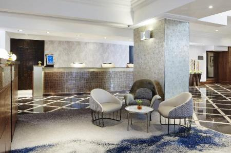 Lobby London Marriott Hotel Marble Arch
