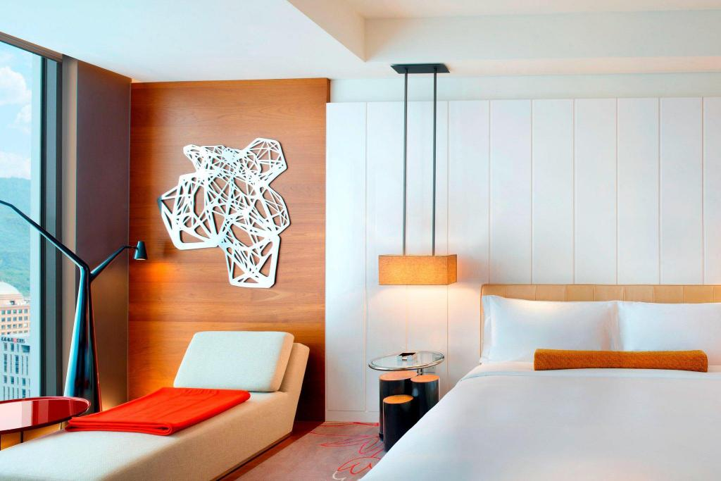 Wonderful Room, Guest room, 1 King, City view 台北W酒店 (W Taipei)